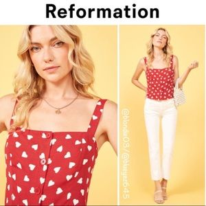 Reformation Yara Hearts Too